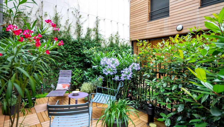 8 Conseils Pour Aménager Un Petit Espace Vert Balcons Cie