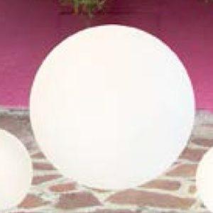 Eclairage IOLUX Colormoon ECLIOLCOL1 lape solaire boule décoration de balcon et jardin cessy
