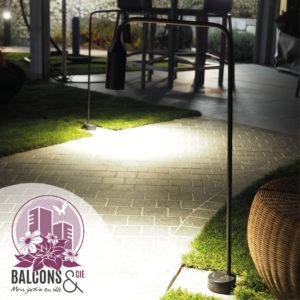 décoration jardin pays-de-gex paysagiste extérieur jardinier jardinerie rouillé fleur mobilier balcon éclairage lampe luminaire