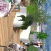 aménagement paysager terrasse en attique à thoiry bacs de plantations balcon décoration